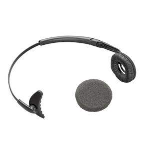 Plantronics Uniband Monaural Headband for use with CS50 and CS55 - Black (66735-01)