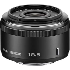 Nikon 1 Nikkor 18.5mm f/1.8 Lens for CX Format (Black)
