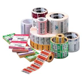 ZEBRA Z-Select  4000T Labels (4.00 Inch x 5.00 Inch; 570 Labels-Roll and 6 Rolls-Case)