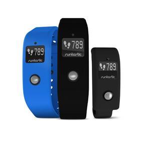 Runtastic Orbit 24-Hour Activity Fitness & Sleep Tracker Wearable Wristband - Black / Blue (RUNOR1)