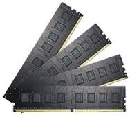 G.SKILL Value Series 32GB (4x8GB) DDR4 2133MHz CL15 Quad-Channel DIMMs (F4-2133C15Q-32GNT)