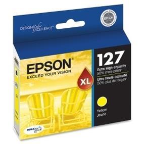 Epson 127 XL Yellow Ink Cartridge (T127420-S)