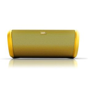 JBL Flip 2 Portable Bluetooth Wireless Speaker with Built-in Microphone (Yellow)