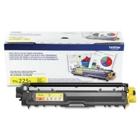 Brother TN225Y Yellow High Yield Toner Cartridge for HL-3140CW/HL-3170CDW/