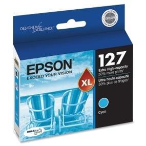 Epson 127 XL Cyan Ink Cartridge (T127220-S)