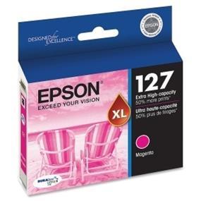 Epson 127 XL Magenta Ink Cartridge (T127320-S)