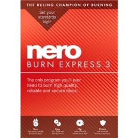 Nero Burn Express 3 Bilingual (FR/EN) (AMER-11440000/605)