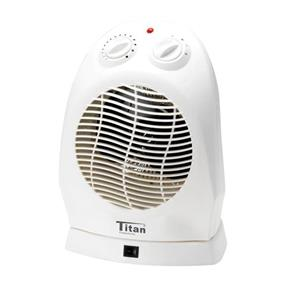 HomeMax FH902D3T Fan Heater with Oscillation - White