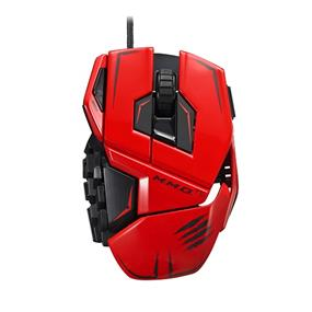 Mad Catz Cyborg MMO TE Wired Laser Gaming Mouse - Red (MCB437140013/04/1)