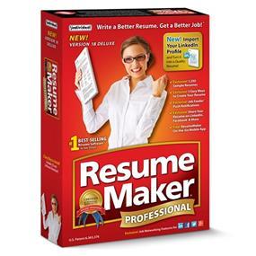 Individual software Resumemaker Pro Deluxe 18 FR/EN