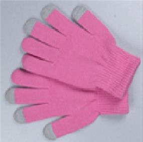 Sport Pink Touchscreen compatible gloves