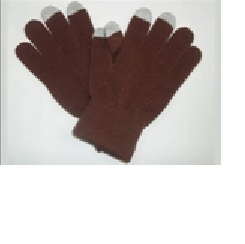 Sport Brown Touchscreen compatible gloves