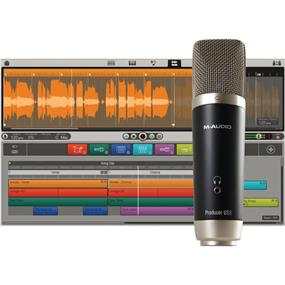 M-Audio Vocal Studio - USB Microphone Personal Recording Studio