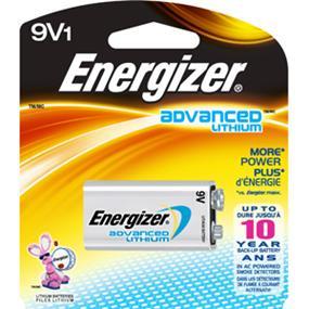 Energizer Advanced Lithium 1x 9V (EA522BP)