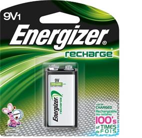 Energizer Rechargeable 1x9V  150mAh Batteries (NH22NBP)