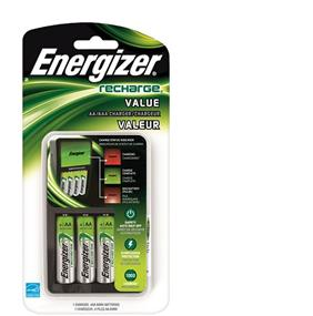 Energizer Value Family Charger 4xAA/AAA  (CHVCMWB4)