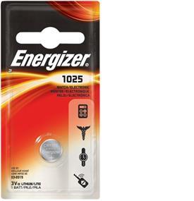 Energizer Lithium 1025 3V Battery (ECR1025BP)