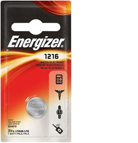 Energizer Lithium 1216 3V Battery (ECR1216BP)