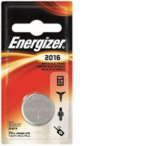Energizer Lithium 2016 3V Battery (ECR2016BP)