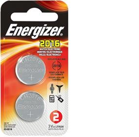Energizer Lithium 2016 3V Battery 2-pack (2016BP2N)