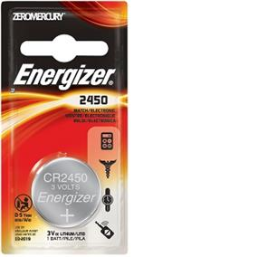 Energizer Lithium 2450 3V Battery (ECR2450BP)