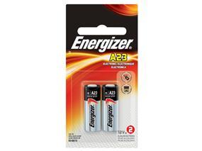 Energizer A23 2 x 12V Alkaline Batteries (A23BPZ2)