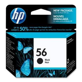 HP 56 Ink Cartridge - Inkjet (C6656AC#140)