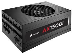 Corsair AX1500i Digital  Power Supply Fully-Modular 1500Watt 80PLUS Titanium Certification Corsair Link (CP-9020057-NA)