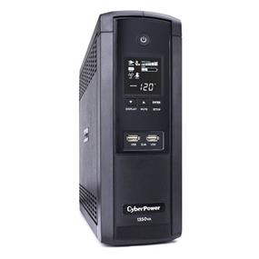 CyberPower BRG1350AVRLCD Intelligent LCD UPS 1350VA 810W AVR Mini Tower