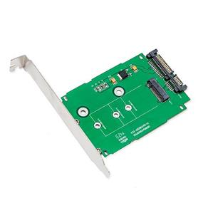 "SYBA M.2 NGFF to 2.5"" SATAIII Card with Full & Low Profile Brackets (SI-ADA40083)"