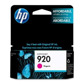 HP 920 Magenta Original Ink Cartridge (CH635AN)