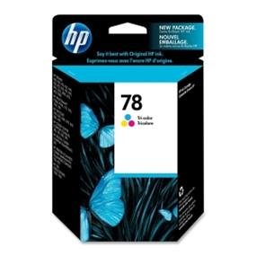 HP 78 Tri-Color Ink Cartridge  (C6578DN)