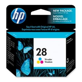 HP 28 Tri-colour Original Ink Cartridge (C8728AN)