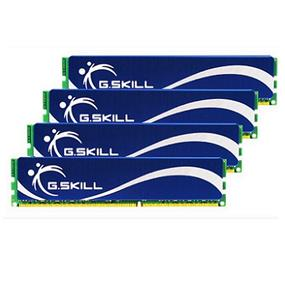 G.SKILL Performance Series 16GB (4GBx4) DDR2 800MHz CL5 Dual Channel Kit (F2-6400CL5Q-16GBPQ)