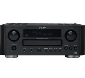 TEAC CR-H500 CD Receiver with MP3 Recording Function (Black)