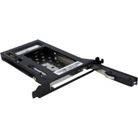 StarTech 2.5in SATA Removable Hard Drive Bay for PC Expansion Slot - 1 x 2.5 - Internal Hot-swappable - Serial ATA (S25SLOTR)