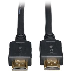 Tripp Lite P568-050 HDMI Gold Digital Video Cable - Type A Male HDMI - Type A Male HDMI - 15.24m - Black