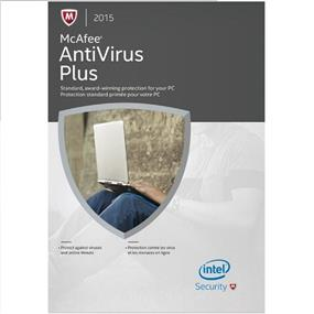 McAfee 2015 Antivirus Plus 3 PC
