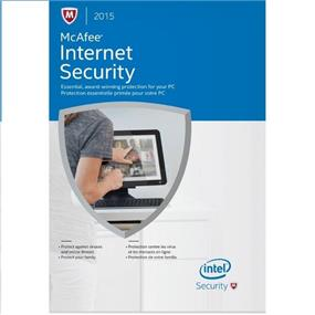 McAfee 2015 Internet Security 3 PC