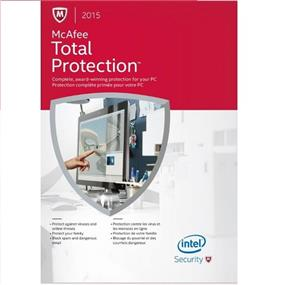 McAfee 2015 Total Protection 3 PC