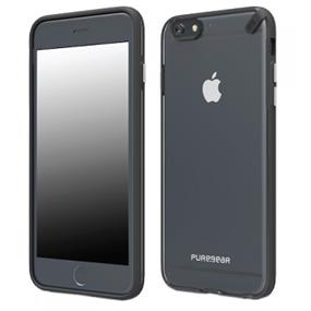 PureGear iPhone 6 (5.5'') Slim Shell iPhone Case Clear Black (60803PG)