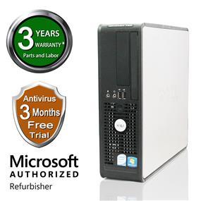 Dell MARS Refurbished Optiplex SFF GX760, Intel Core Duo E7300 2.66Ghz, 4G DDR2, 80G HDD, Windows 7 Home Premium 64 Bit, 3 Year Warranty