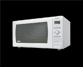 Panasonic NNSD767W Family Size 1.6 cu. Ft. Genius Inverter Countertop  Microwave Oven - White (NNSD767W)