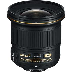 Nikon AF-S NIKKOR 20mm f/1.8G ED *** See In-Store for Final Price. Ask Sales for More Info. ***