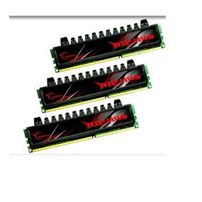 G.SKILL Ripjaws Series 12GB (4GBx3) DDR3 1333MHz CL7  Triple Channel Kit (F3-10666CL7T-12GBRH)
