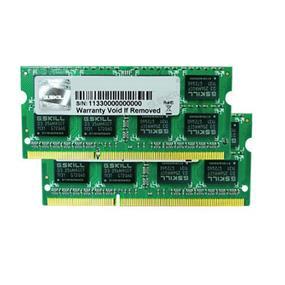 G.SKILL Standard Series 4GB (2GBx2) DDR3 1333MHz CL9  SO-DIMM Memory (F3-10666CL9D-4GBSQ)