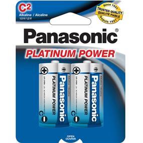 Panasonic Platinum Alkaline C-2 1.5V (LR14XP2B)
