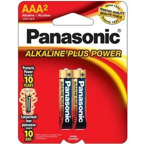 PanasonicAlkaline Plus AAA-2 1.5V (AM4PA2B)