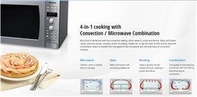 Panasonic NNCF781S 1.0 cu. ft. Inverter Microwave / Convection Oven - Stainless Steel (NNCF781S)