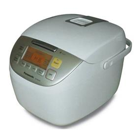 Panasonic SRMS183 1.8 Litre 10 Cup Microcomputer Controlled Rice Cooker with Fuzzy Logic Technology - White (SRMS183)